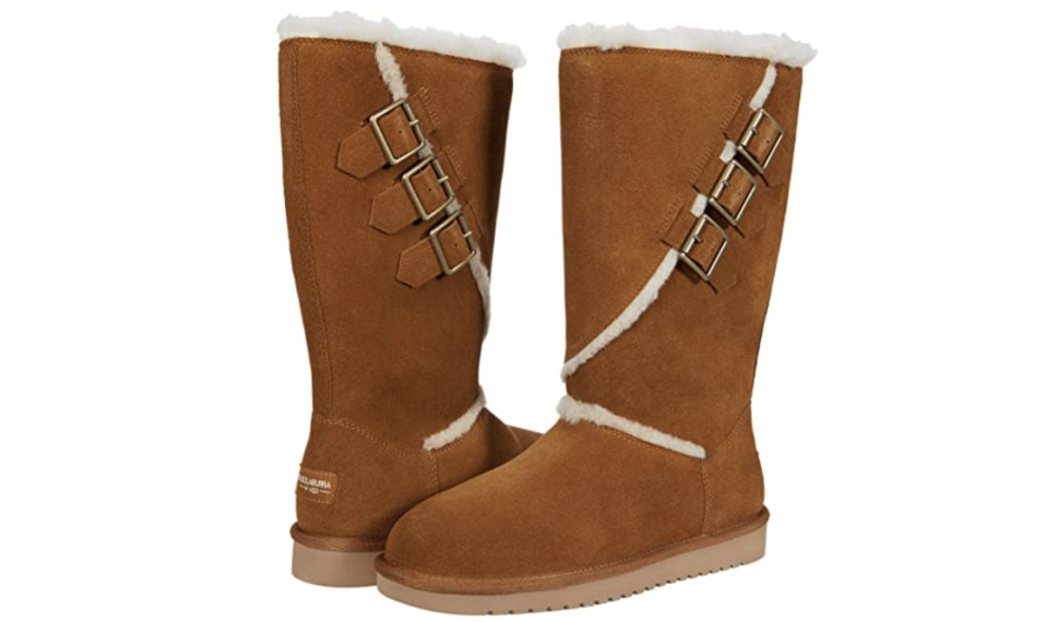 Keep your toes toasty with these cozy boots. (Photo: Zappos)