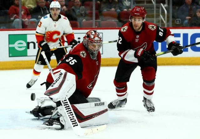 The Coyotes look likely to fall just short of the postseason. (Jose M. Romero/AP)