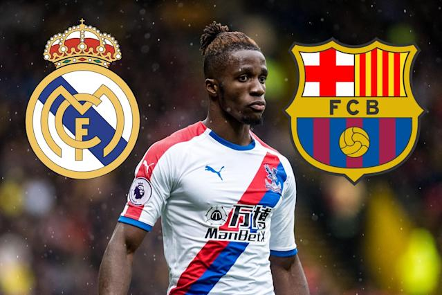 Clinton Morrison reckons Wilfried Zaha would not look out of place at one of Spain's top two clubs