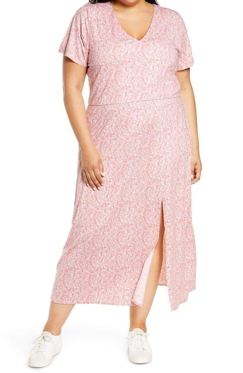 <p>You'll feel so comfortable in this <span>WAYF x BFF Alexa Dress</span> ($69).</p>