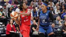 Mystics clinch playoff spot with 86-79 comeback win over Lynx