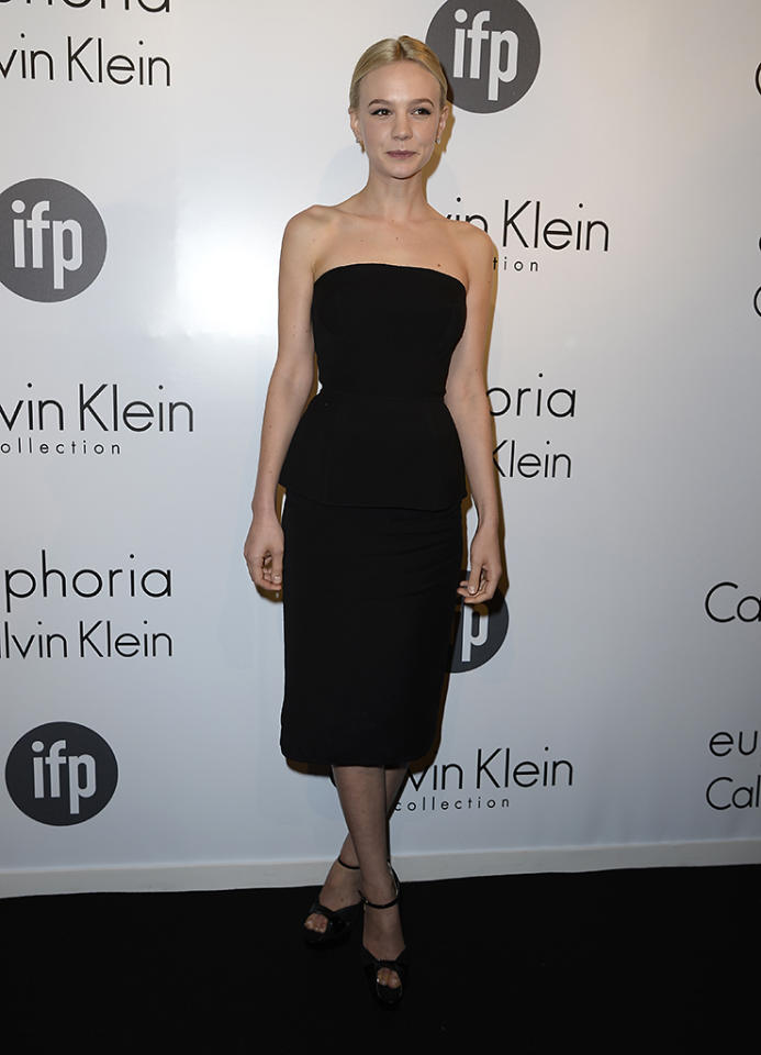 CANNES, FRANCE - MAY 16:  Actress Carey Mulligan attends the The IFP, Calvin Klein Collection & Euphoria Calvin Klein Celebrate Women In Film At The 66th Cannes Film Festival on May 16, 2013 in Cannes, France.  (Photo by Pascal Le Segretain/Getty Images for Calvin Klein)