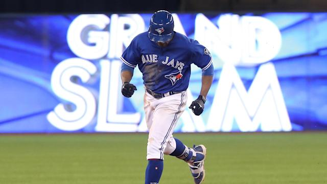 Grand slams were a theme on Wednesday as the Toronto Blue Jays and Boston Red Sox eased to victory midweek.
