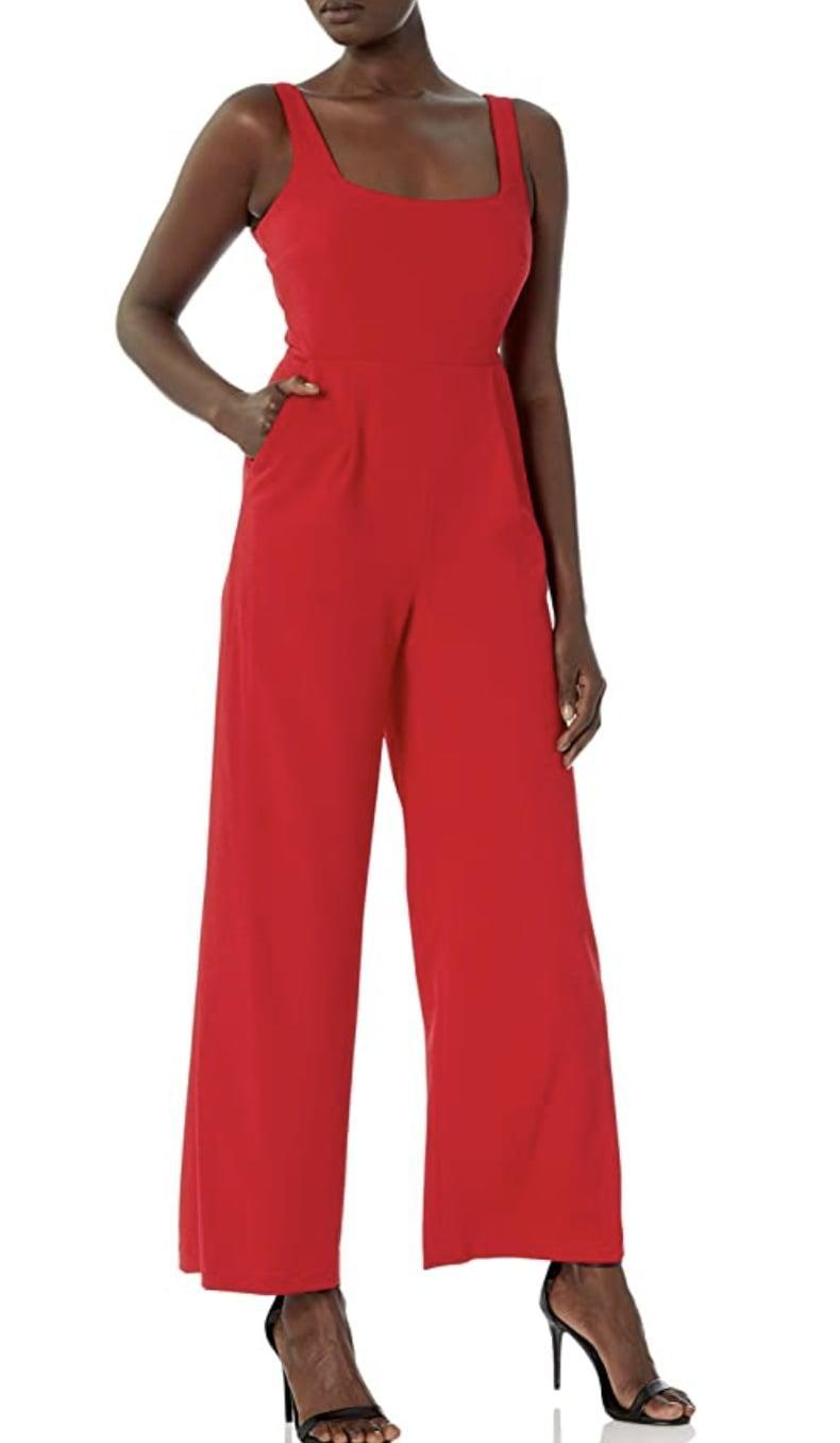 <p>This <span>Calvin Klein Square-Neck Jumpsuit</span> ($81 - $102) will hint at your passionate nature in the most elegant and subtle way. The square neckline and refined silhouette bring a touch of elegance that will be irresistible on your next date.</p>