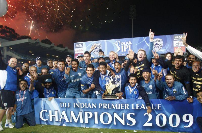 Deccan Chargers won the IPL trophy in 2009.