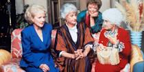 <p>Whether you're a Rose, Blanche, Sophia, or Dorothy, no <em>Golden Girls</em> fan will want to miss out on this '80s-fabulous group costume. Grab three of your closest girlfriends, get dressed up like everyone's favorite spunky seniors, and enjoy a night out on the town.</p>