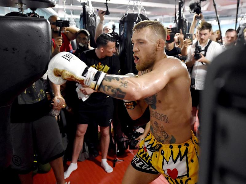 McGregor's odds have shortened since the announcement (Getty)