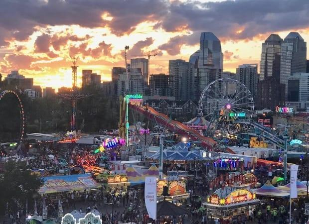 The event will be much more spread out, according to the Calgary Stampede. (John Gibson/CBC - image credit)
