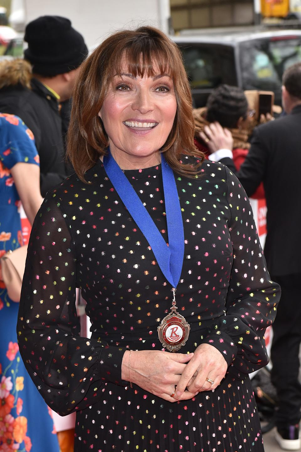 Lorraine Kelly attends the TRIC Awards 2020 at The Grosvenor House in London. (Photo by James Warren / SOPA Images/Sipa USA)