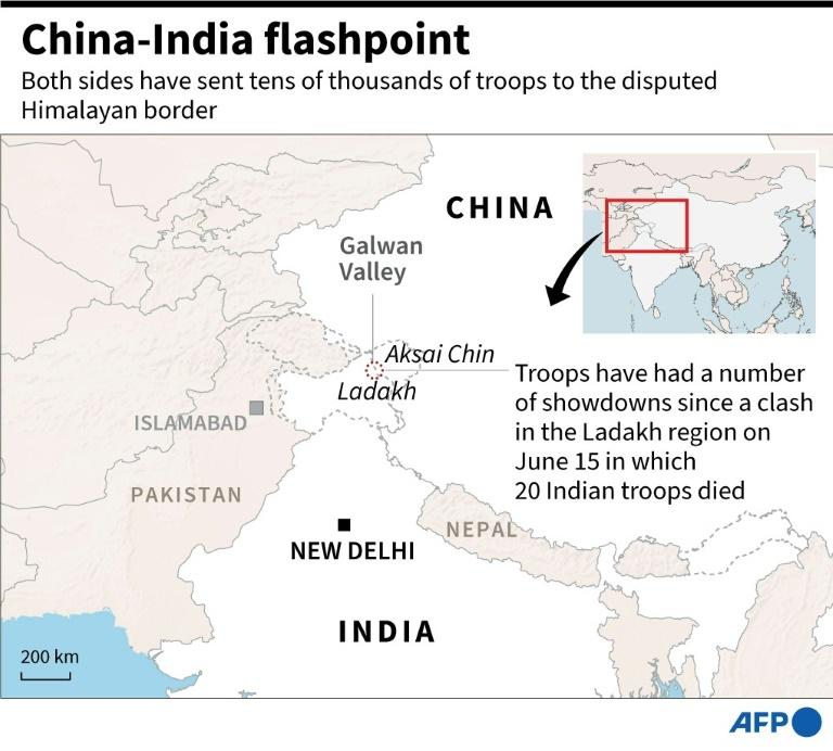 China, India agree to disengage at disputed border