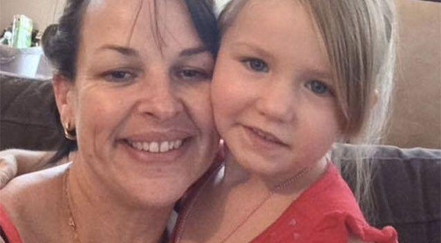 Tina Mancini with her granddaughter Payton. Source: Supplied