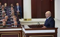 Lukashenko is facing some of the strongest international pressure of his 26-year rule