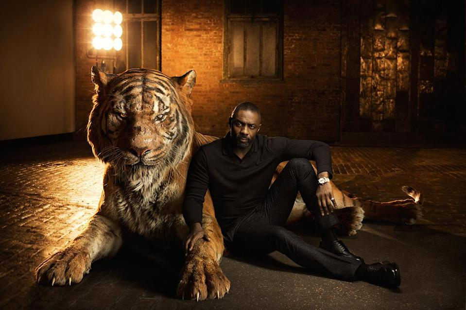 "<p>The <i>Beasts of No Nation</i> star voices the intimidating tiger who wants to oust Mowgli (Neel Sethi) from the jungle. ""The movie only works if the villain works, that's the secret,"" <a href=""http://www.people.com/article/jungle-book-disney-scarlett-johansson-idris-elba"" rel=""nofollow noopener"" target=""_blank"" data-ylk=""slk:Favreau told People"" class=""link rapid-noclick-resp"">Favreau told <i>People</i></a>. ""All of Idris' personality and power come through in his voice."" </p>"