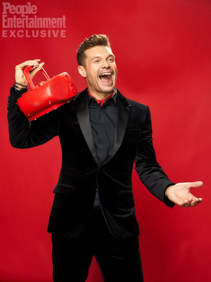 Seacrest made his debut on Christmas Eve in 1974 and continues to be the gift that keeps on giving when it comes to celebrity interviews,<em>Keeping Up with the Kardashians</em> and more.