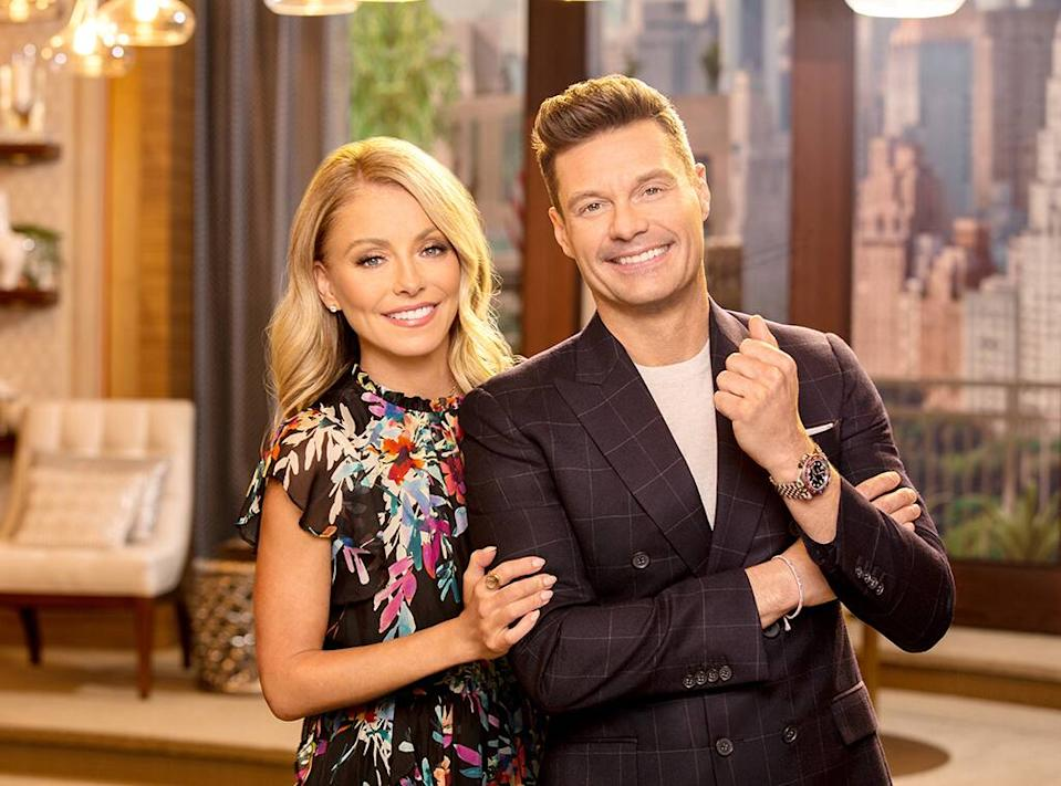 Live With Kelly and Ryan, Kelly Ripa, Ryan Seacrest