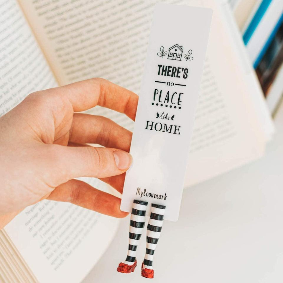 <p>Isn't this fashionable <span>My Bookmark Wicked Witch Bookmark</span> ($24) so clever?</p>