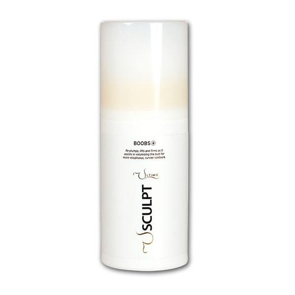 """<a target=""""_blank"""" href=""""http://www.ultimo.co.uk/shop/boobs-plus-1307?clid=1635""""><b>Boobs Plus – £39.50 – Ultimo Beauty</b></a><br><br>Lather this cream onto your décolletage to replump, lift and firm your breasts - or you could try its sister product Boobs Minus which is a non-surgical bust reduction cream."""