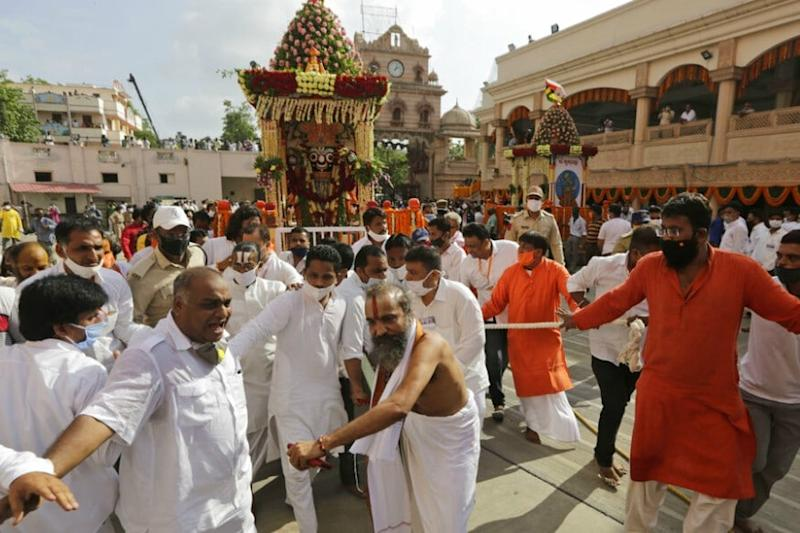 Odisha to Conduct Covid-19 Tests for 5,000 People Associated with Rath Yatra