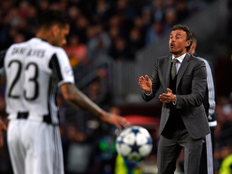 Luis Enrique's men could not to break Juventus down (Getty)