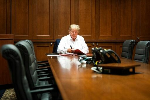 Trump Improving, But Not 'Out of the Woods' Yet; Next 2 Days Critical in Fight against Covid-19: Doctor