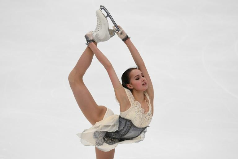 Alina Zagitova was at her thrilling best on Friday