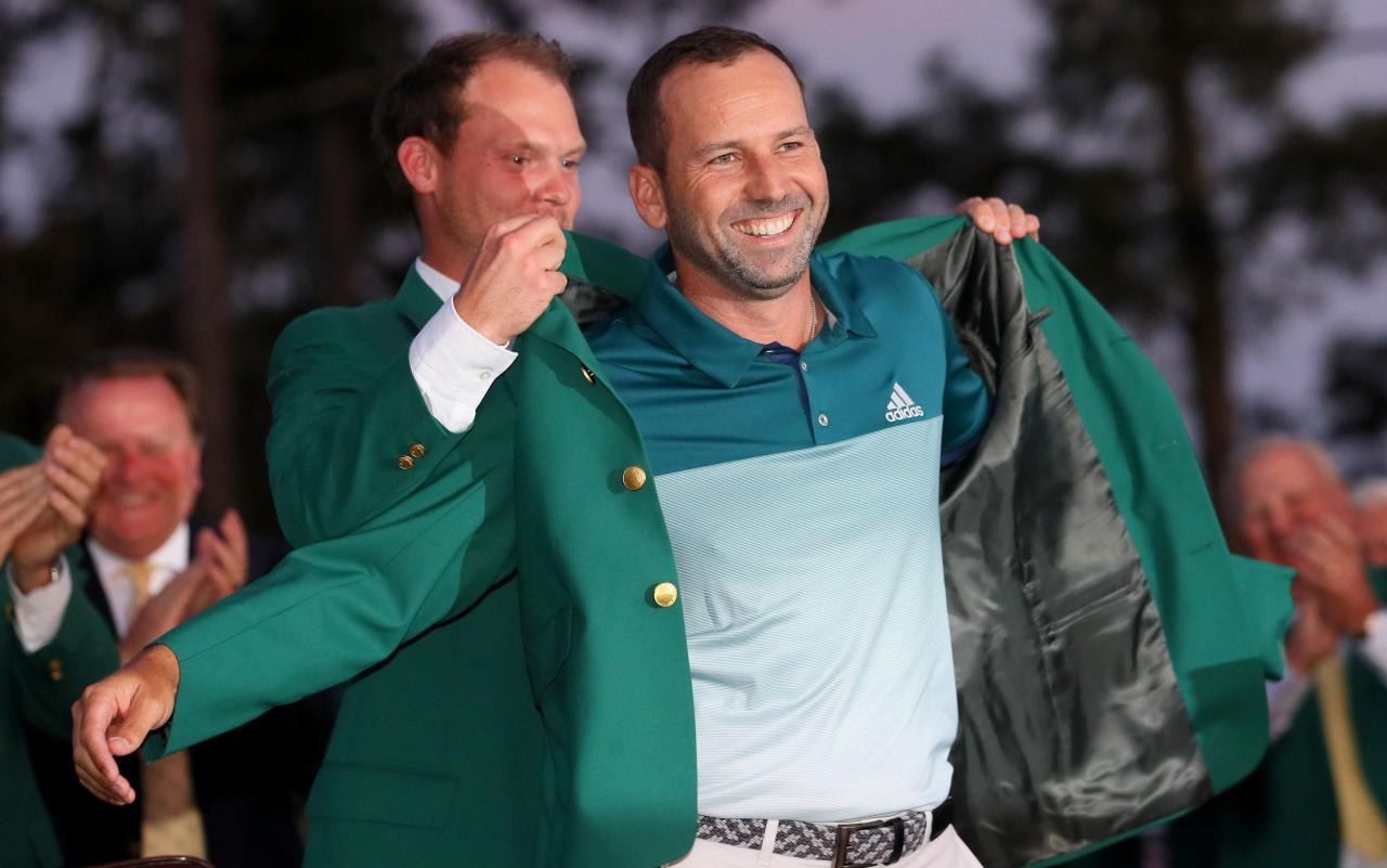 "The more sugar, the sweeter it is. So translates a Spanish saying of which Sergio Garcia, in his sweetest year, is especially fond. The Masters champion likes to speak idiomatically, not least when likening the challenge of winning more majors to a ""knife with two blades"". Or when describing a choice between a Green Jacket and a Claret Jug as ""like saying, who do you love more, your dad or your mum?"" Facing journalists at an Open is not traditionally Garcia's favourite pastime. After shooting an 89 at Carnoustie in 1999, he could barely talk, instead weeping openly in his mother's arms at the embarrassment of it all. But these days he typifies the exquisite contentment of a man who, through his triumph at Augusta, has fulfilled his lifetime's quest. Last week, he was in the Royal Box at Wimbledon, wearing a Green Jacket that blended seamlessly with the All England Club's colours. Next week, he is marrying Angela Akins, his Texan fiancee and a former Golf Channel presenter who has been crucial in his recent resurgence. This is a golden summer, not merely for Garcia but for Spanish sport. Quite apart from Rafael Nadal achieving La Decima at Roland Garros, or Garbine Muguruza winning Wimbledon, his compatriots are cutting a swathe across the links. Jon Rahm lifted the Irish Open title, Rafael Cabrera-Bello the Scottish, and now Garcia has a chance this week to complete an Iberian hat-trick here in sun-kissed Southport. ""It's very exciting to see guys you're friendly with, fellow countrymen, doing great things,"" he said. ""We're going to try to keep it going as much as possible."" Sergio Garcia won his first Masters title in April  Garcia has a formidable Open pedigree, as he underlined a few miles south along the Merseyside coast in 2014, when he kept even Rory McIlroy in his sights until the final holes at Hoylake. Mindful of his position among the favourites at Royal Birkdale, he promised, irrespective of his impending nuptials, to keep his eyes on the prize. ""My mind is on the Open, don't worry,"" he said, laughing. ""It's going to be where it needs to be. Angela has been doing a great job of getting everything ready for the wedding."" The historical precedents are not auspicious, with those who savour glory at Augusta far from guaranteed to translate such form to the Open. Of the past 30 Masters winners, just four – Sir Nick Faldo in 1990, Mark O'Meara on this very course in 1998, and the matchless Tiger Woods in 2005 – have gone on to clasp the Claret Jug. Since Woods' victory at St Andrews 12 years ago, a mere two, Adam Scott and Jordan Spieth, have even finished in the top 15. Garcia is not best poised, if the wild winds in which he has often struggled re-emerge as forecast for later this week, to buck the trend. Even after his most popular and cathartic of Masters breakthroughs, Garcia still cannot shake references to his many near-misses. Between Carnoustie 2007 and Royal Liverpool seven years later, where he was runner-up both times, which opportunity would he most like to have back? ""I've always said that consistency has been one of my greatest attributes throughout my career,"" he shrugged. ""Of course, I could have won more, but I think the record I have put together over the last 18 or 19 years is not easy to do. Some people overlook that."" Garcia's fellow Spaniard Rafael Nadal won the French Open last month The ghosts of 2007, when Garcia was vanquished by Padraig Harrington to stoke a decade-long enmity, have, he assured, been tamed. For years, the pair were implacable adversaries, with the Irishman acknowledging that he only spoke to his rival ""through gritted teeth"", because he was put off by a ""very sore loser"". They forged a rapprochement at McIlroy's wedding in County Mayo recently, although Garcia highlighted yesterday the distinctions between them. ""With all due respect, if I tried to be like Harrington, it would probably not work out for me,"" he said. ""Our personalities are totally different. The patience he has clearly helps. We are all hard workers, but he is perhaps even more so."" When Garcia was growing up in rural Castellon in the Eighties, the Open, even allowing for the dazzling feats of Seve Ballesteros, was on network television only intermittently. Thirty years on, Spain appears to have perfected a form of golfing alchemy.  ""The weather helps,"" he said. ""But it's the combination of talent we have managed to produce, too, and the passion, the charisma we have. Mix those three things together, even though we are not the biggest golf country, and it all works out.""  Basking in conditions more akin to Sotogrande than Southport, he seemed only too happy to carry the flame."