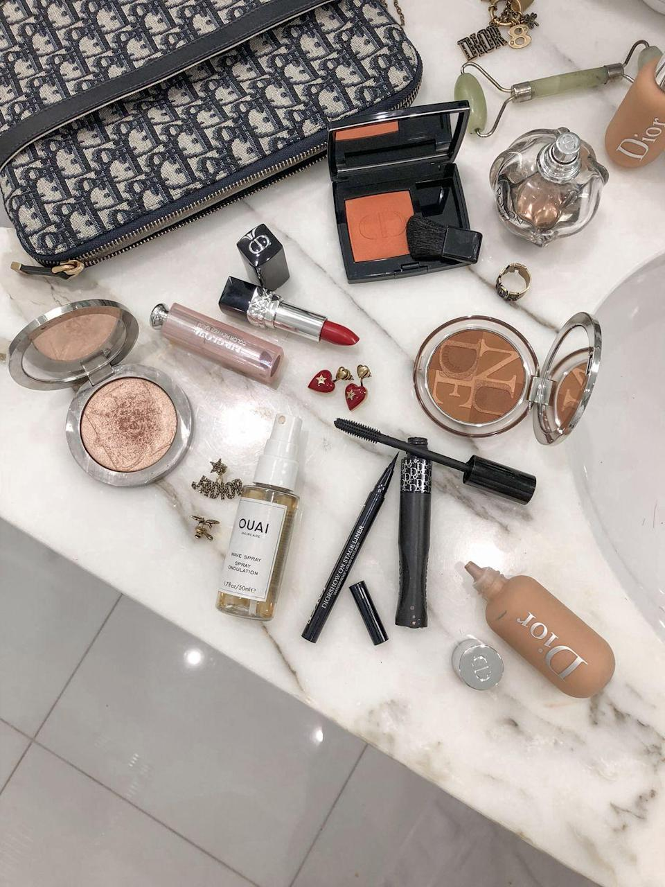 """<p>""""Makeup time is my therapy time!""""</p>"""