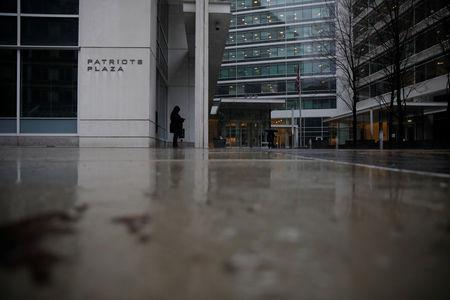 One of the buildings that houses an office of Special Counsel Robert Mueller's team is seen in southwest Washington, U.S., March 21, 2019. Picture taken March 21, 2019. REUTERS/Carlos Barria