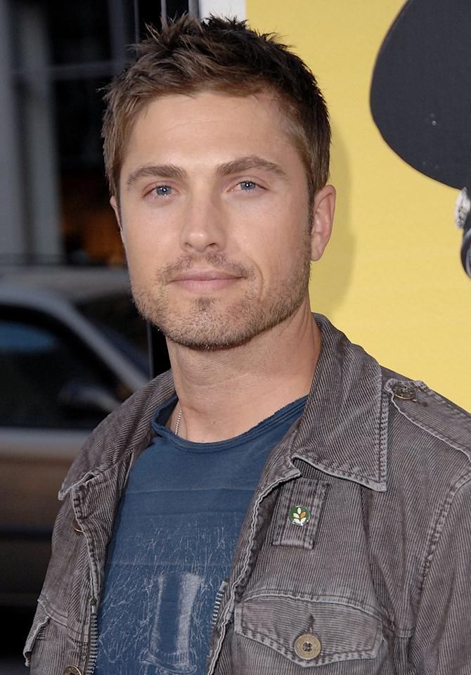 """<a href=""""http://movies.yahoo.com/movie/contributor/1809833639"""">Eric Winter</a> at the Los Angeles premiere of <a href=""""http://movies.yahoo.com/movie/1810025224/info"""">Observe and Report</a> - 04/06/2009"""