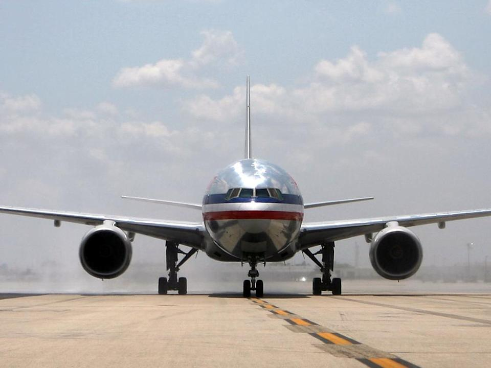 <p>American Airlines is investigating the incident</p> (MARC SEROTA / GETTY IMAGES)