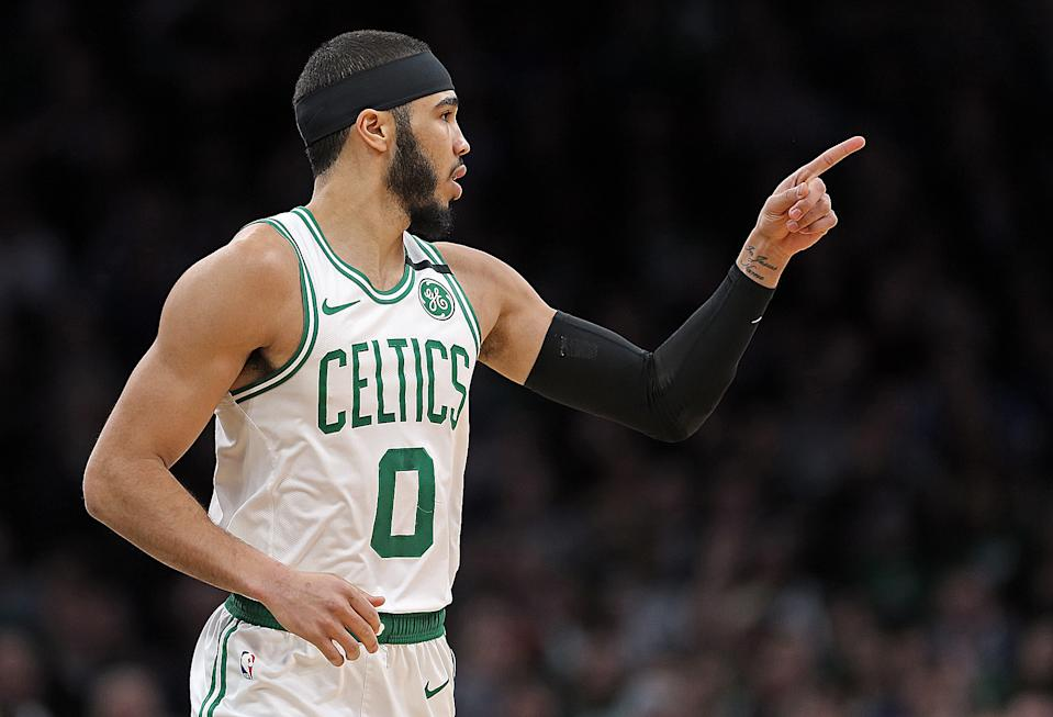 Jayson Tatum is about to unleash his superstardom. (Matt Stone/MediaNews Group/Boston Herald)