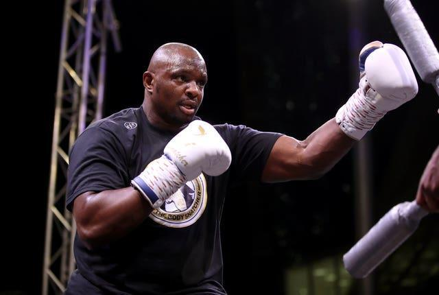 Dillian Whyte, pictured, would relish another fight with Anthony Joshua (Nick Potts/PA)