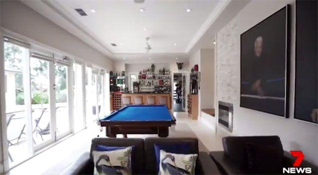 The games room. Source: 7News
