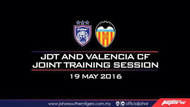 JDT players will have a chance to train and learn from one of the top Spanish clubs, Valencia CF.