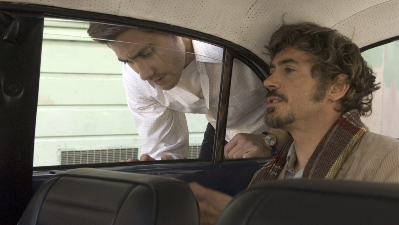 Jake Gyllenhaal and Robert Downey Jr. in Zodiac. (Warner Bros.)