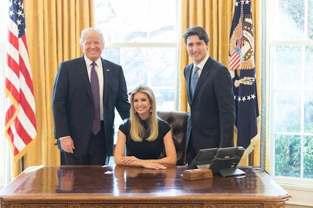 Does Ivanka Trump want to be the first woman president? A new tell-all book suggests yes. (Photo: Twitter/Ivanka Trump)