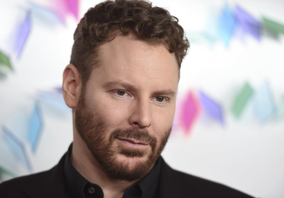 FILE - In this May 6, 2017, file photo, Sean Parker arrives at an event in Culver City, Calif. Tech billionaire Sean Parker has been approved by New Zealand authorities to buy a one-third stake in film director Peter Jackson's visual effects studio. (Photo by Jordan Strauss/Invision/AP, File)