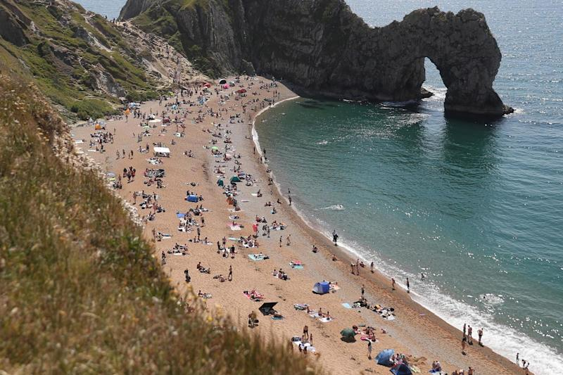 Beaches are busy again this weekend (PA)
