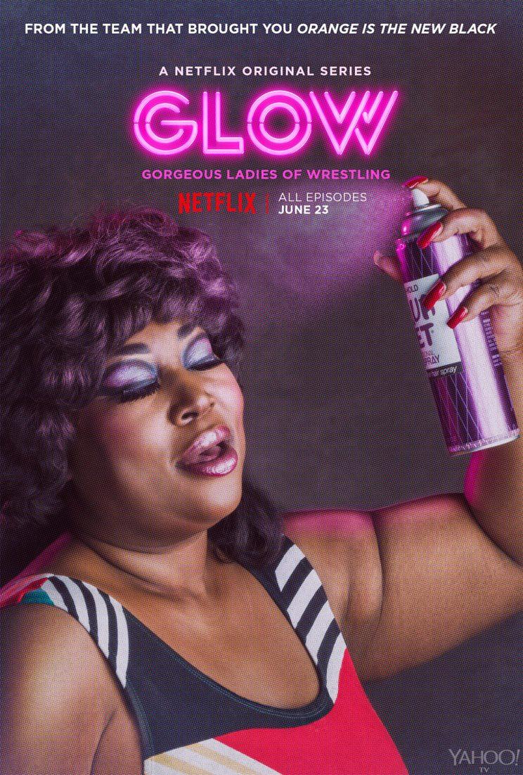 Kia Stevens as Tamme in 'Glow' (Photo: Netflix)