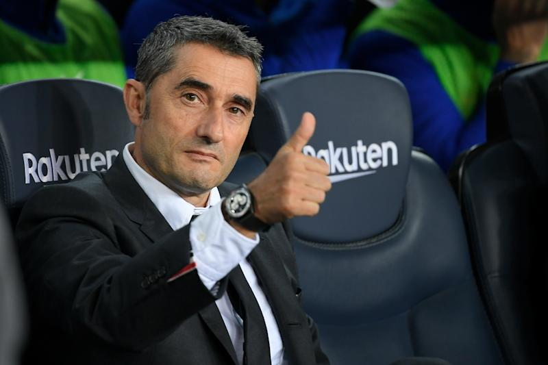 Ernesto Valverde's Barcelona side face a tricky test against Levante. (Getty Images)