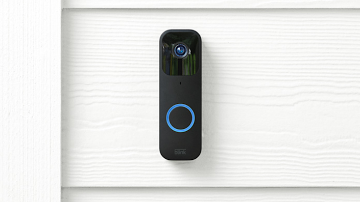 The new Blink Video Doorbell records in 1080p and has multiple installation options suited for any front door.