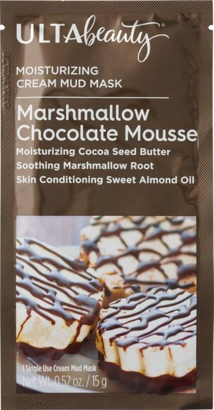 <p>The <span>Ulta Marshmallow Chocolate Mousse Cream Mud Mask</span> ($3) smells like a delicious holiday dessert while also packing moisturizing and soothing skin-care benefits.</p>