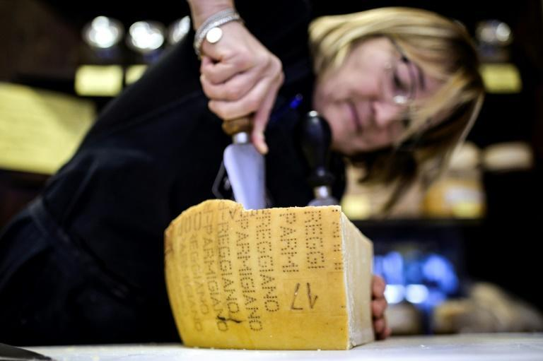 Sanctions imposed by the Trump administration have impacted Italian products like parmesan