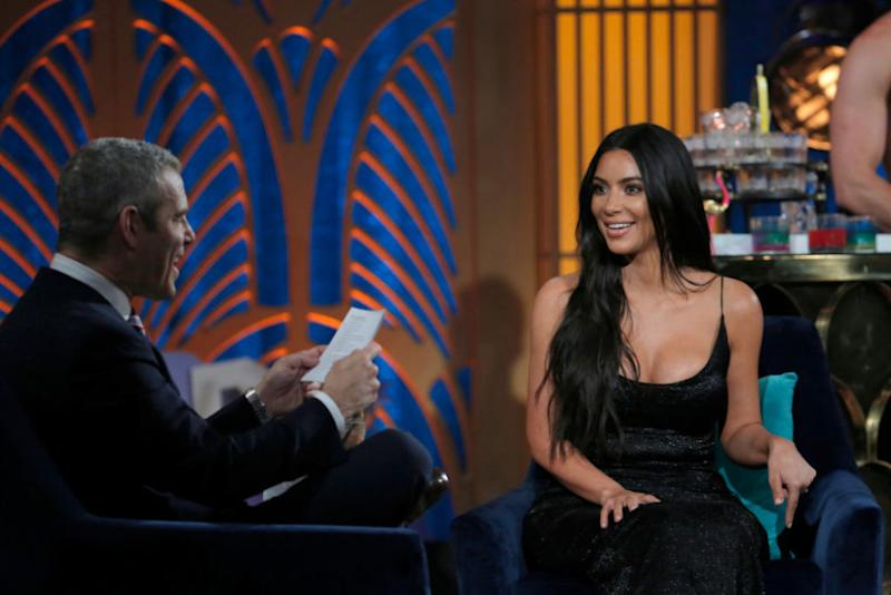 Kim Kardashian on Watch What Happens Live