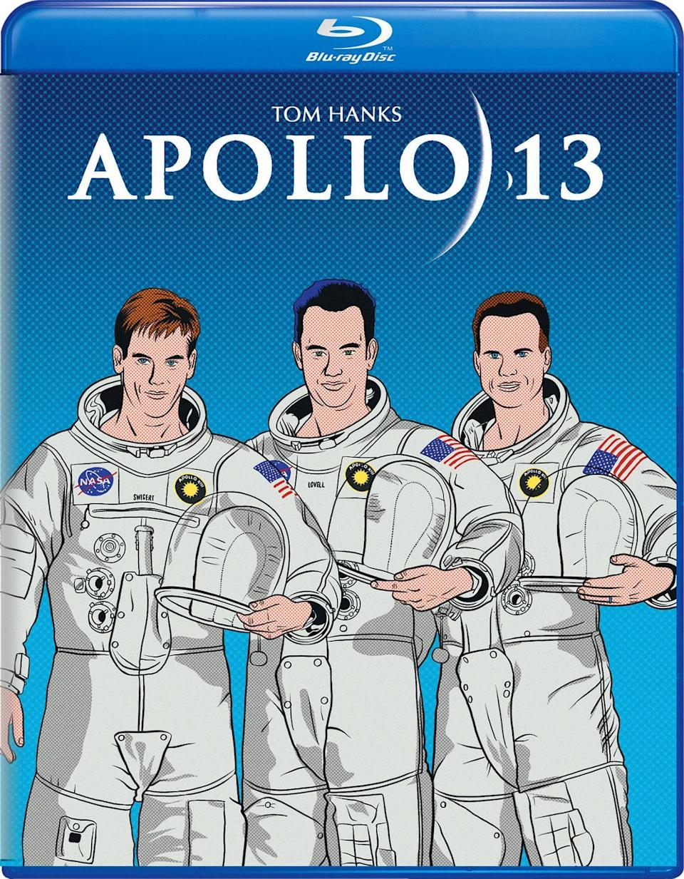 <p>We'll allow a special dispensation for this one, as it's technically not a poster but a special edition Blu-ray cover. What was it about Ron Howard's multi-Oscar-winning astronaut epic that made Universal commission a child's line-drawing for its Blu-ray release? Losing Jim Lovell and his crewmates in the deepest, darkest regions of space would only have been half the disaster this is. </p>