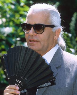 Karl Lagerfeld Reveals His Hair History: 'I've Had The White Ponytail For 36 Years!'