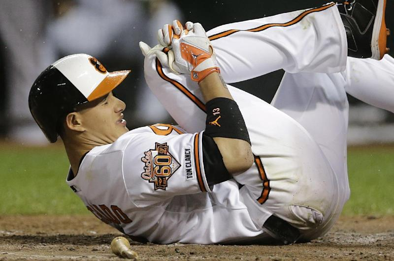 Orioles 3B Machado to have season-ending surgery