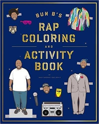 <p>This <span>Bun B's Rapper Coloring and Activity Book</span> ($12) is perfect for the hip-hop enthusiast.</p>