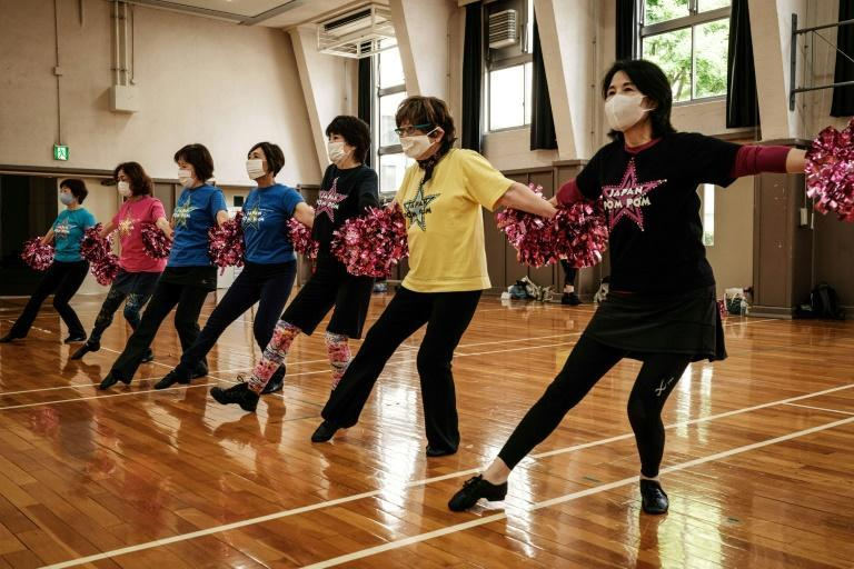 Cheerleading is a fun way to stay fit for the 'Japan Pom Pom' girls