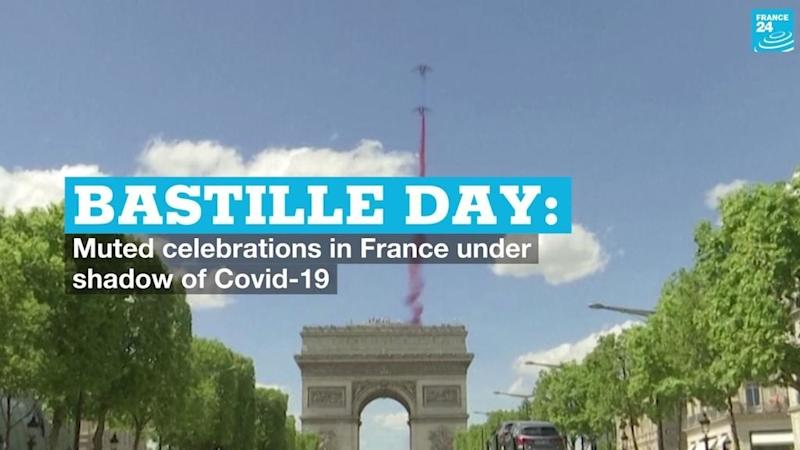 Bastille Day: Muted celebrations in France under shadow of Covid-19
